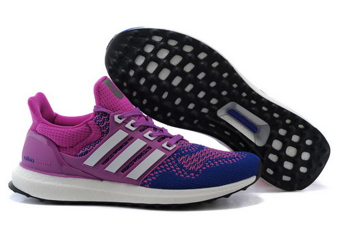 Womens Adidas Ultra Boost Purple & White Coupon
